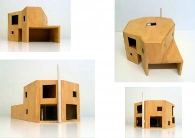 Rodinný dům v Pardubicích - Model