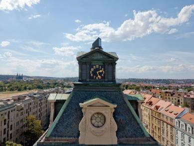 Rekonstrukce vodárenské věže s observatoří - foto: Benedikt Markel