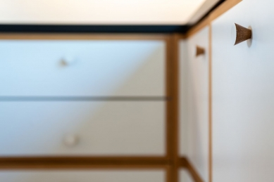 Interiér mezonetového bytu - foto: Martin Zeman