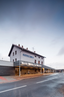Dopravní terminál Nové Město na Moravě - foto: Radek Brunecký