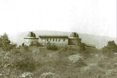 Severočeská hvězdárna Teplice - Historické foto