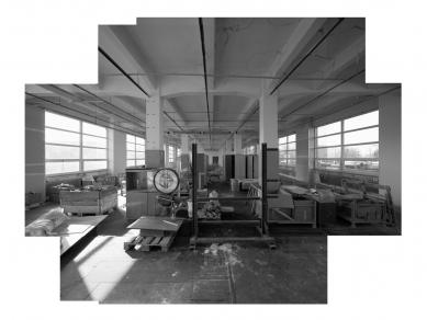 3. Etáž - transformace bývalé textilky - Fotografie původního stavu