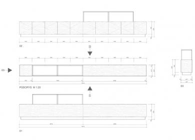 Prodejna drahých kamenů - Skleněné vitríny - foto: henkai architekti