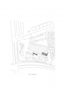 Startovací rampa BMX - Situace - foto: Ondřej Tuček