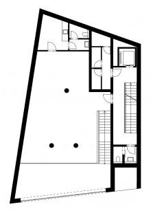 Multifunkční dům Vnoučkova - Půdorys 2NP