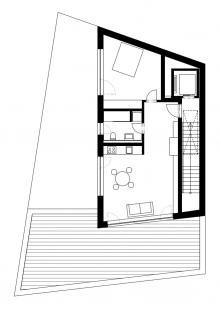 Multifunkční dům Vnoučkova - Půdorys 5NP
