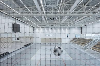 Sportovní hala v Kuřimi - foto: BoysPlayNice, www.boysplaynice.com