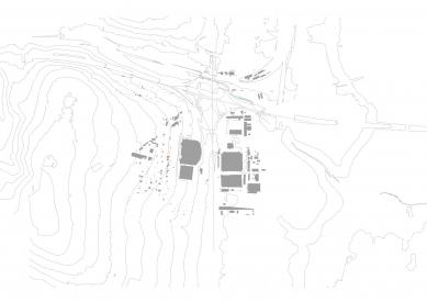 Rodinný dům Moravanské lány - Situace - foto: knesl + kynčl architekti