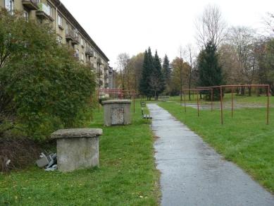 Revitalizace parku U Trati - Fotografie původního stavu - foto: archiv ateliéru