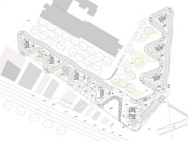 Spolkový úřad pro rozvoj městského prostředí a bydlení - Půdorys přízemí - foto: sauerbruch hutton