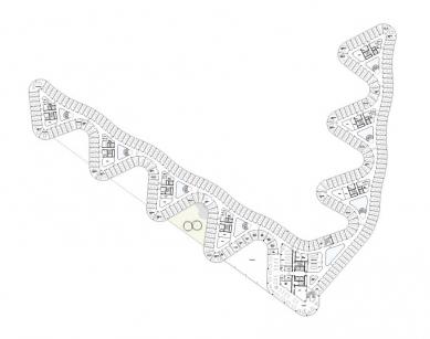 Spolkový úřad pro rozvoj městského prostředí a bydlení - Půdorys typického podlaží - foto: sauerbruch hutton