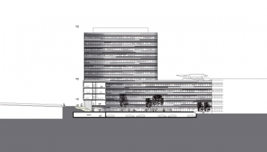 Spolkový úřad pro rozvoj městského prostředí a bydlení - Řez - foto: sauerbruch hutton