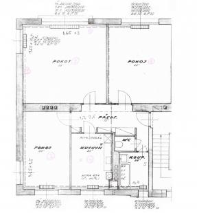 Minimalist Apartment in Prague - Projekt před rekonstrukcí - foto: COLLARCH