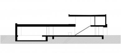 Rodinný dům v Žilině - Řez