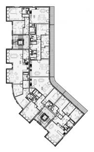 Bytový dům Tetínská - Půdorys 2NP