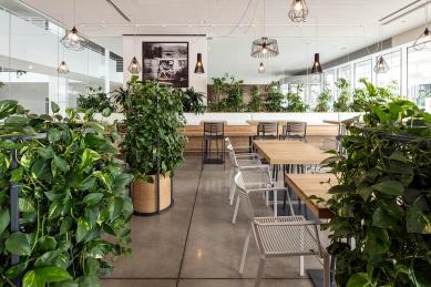 Interiér Bistra Fresherie – City Green Court - foto: Tomáš Dittrich