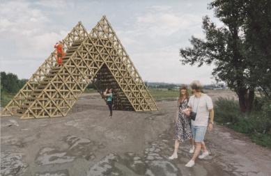 Brána na Rohanský ostrov - Vizualizace - foto: H3T architekti