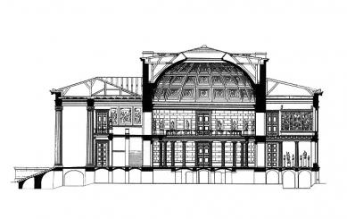 Altes Museum - Řez