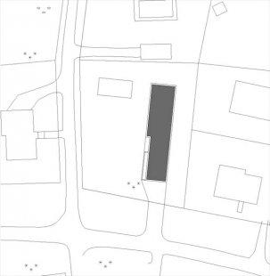 Vila RONNEVIK - situace - foto: 4A architekti