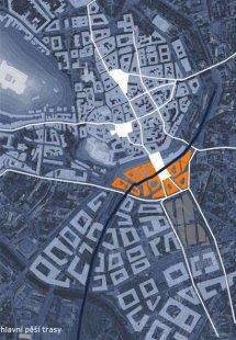 Nádraží v centru - Situace - foto: © Erick van Egeraat associated architects