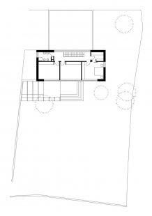 Rodinný dům Obřany 01 - Půdorys patra - foto: knesl + kynčl architekti