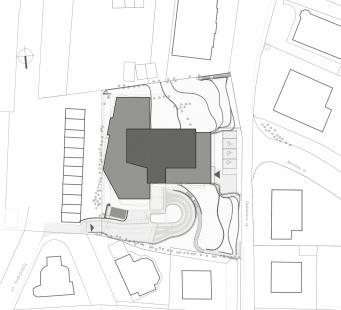 Sokolská Residence - Situace - foto: Architekti Šebo Lichý