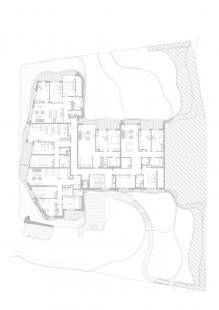 Sokolská Residence - Půdorys 2.pp - foto: Architekti Šebo Lichý