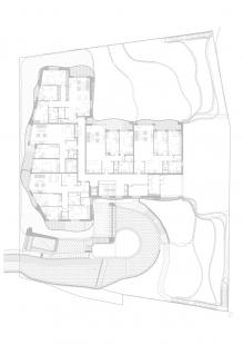 Sokolská Residence - Půdorys 1.np - foto: Architekti Šebo Lichý