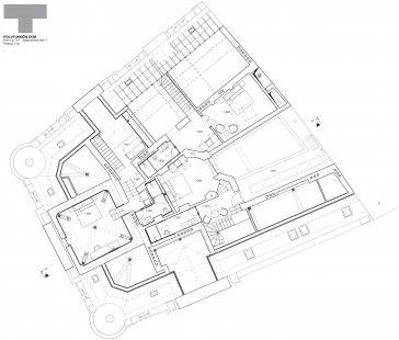 Rekonstrukce domu na Jungmannově náměstí - Půdorys 7.np - foto: TaK Architects
