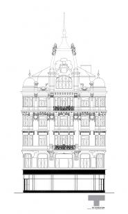 Rekonstrukce domu na Jungmannově náměstí - Pohled - foto: TaK Architects