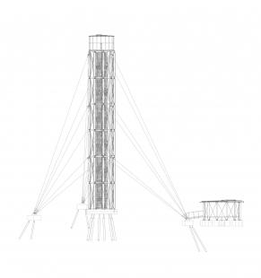 Lookout Tower at Kraličák - Pohled - foto: Huť architektury Martin Rajniš s.r.o.