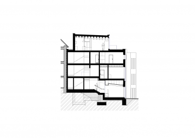 Vista Optik - Řez b-b' - foto: atelier-r
