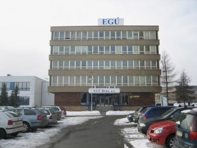 EGÚ Brno - Fotografie původního stavu - foto: knesl + kynčl architekti
