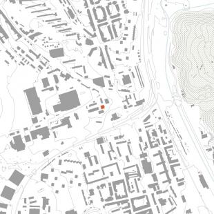 EGÚ Brno - Situace širších vztahů - foto: knesl + kynčl architekti