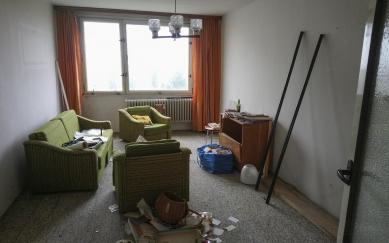 Panelákový byt Červený vrch - Původní stav