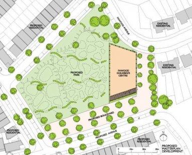 Fawood Children's Centre - Situace výhled - foto: © Alsop Architects, London