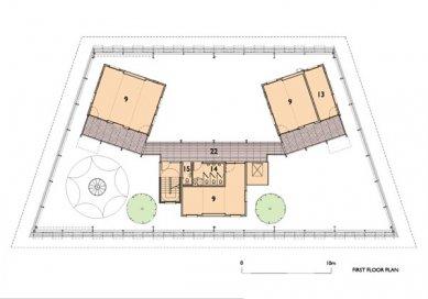 Fawood Children's Centre - Půdorys prvního patra - foto: © Alsop Architects, London
