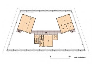 Fawood Children's Centre - Půdorys druhého patra - foto: © Alsop Architects, London