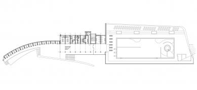 Oprava a obnova areálu kúpeľov Zelená žaba - Půdorys 1.np - foto: Cubedesign