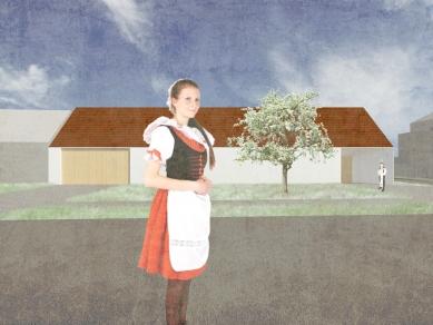 Rodinný dům, Blatnice pod Svatým Antonínkem - Vizualizace - foto: archiv A6