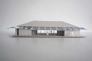 Prodejna Seč - Model - foto: žalský architekt