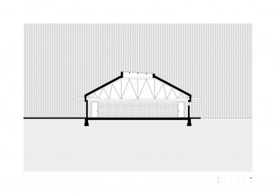 Prodejna Seč - Řez - foto: žalský architekt