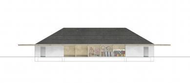 Prodejna Seč - Jižní pohled - foto: žalský architekt