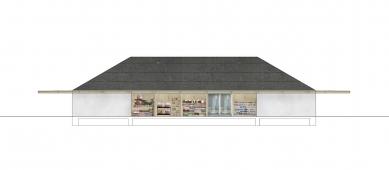 Prodejna Seč - Severní pohled - foto: žalský architekt
