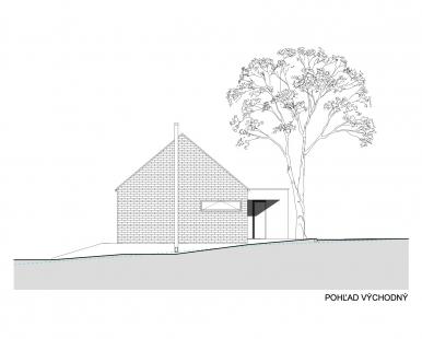 Dvojdom Plánky - Východní pohled - foto: Architekti.sk