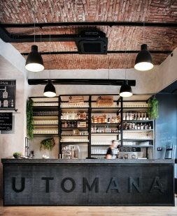 Restaurace a pivovar U Tomana - foto: Martin Vejrosta