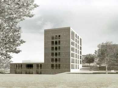 Obytný soubor Killesberg - Vizualizace - foto: David Chipperfield Architects