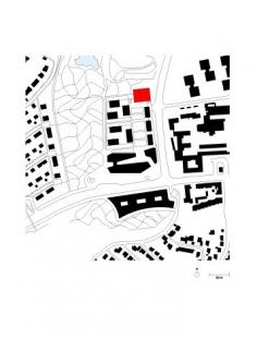 Obytný soubor Killesberg - Situace - foto: David Chipperfield Architects