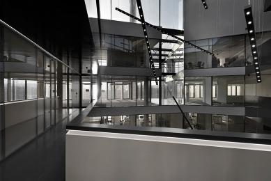 Nový kancelářský blok Palmovka III. a IV. v Libni - foto: AI Photography, Jan Slavík