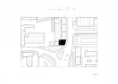 Urban Infill Lofts - Situace - foto: CHKAA